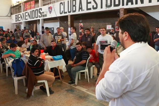 Los trabajadores de la carne celebraron su día