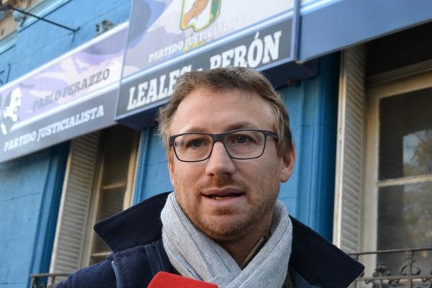 Pablo Perazzo pre candidato a concejal dentro de CUMPLIR