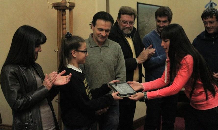 Delfina Ricca y un nuevo reconocimiento a su talento y desempeño deportivo