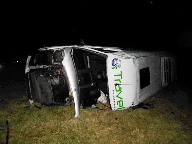 Accidente fatal en Ruta 5 a la altura de Suipacha