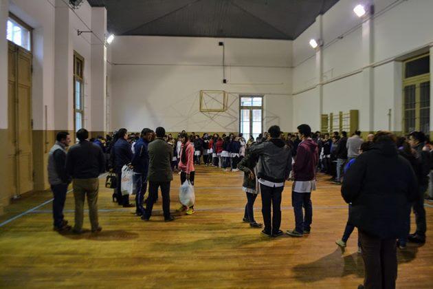 Alegría y satisfacción en la presentación de las obras en gimnasio de Escuela Normal