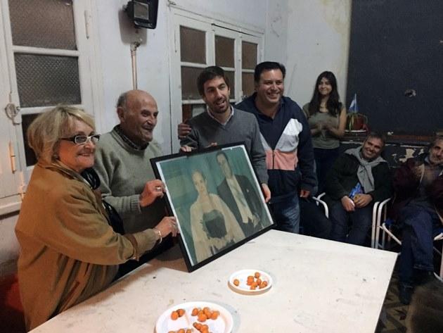 Unidad Ciudadana recordó a Evita junto a militantes y un referente histórico local