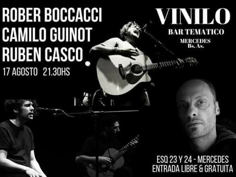Boccacci, Casco y Guinot en Vinilo Bar