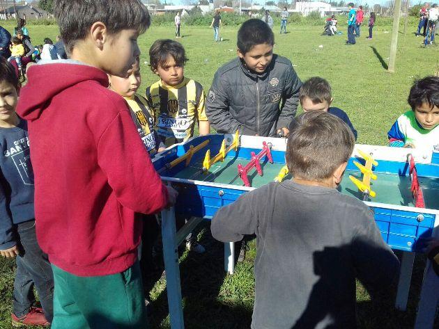 Multitudinario festejo del Día del Niño en Agote