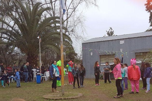 En Barrio Santa Teresita se vivió jornada de festejo para los chicos