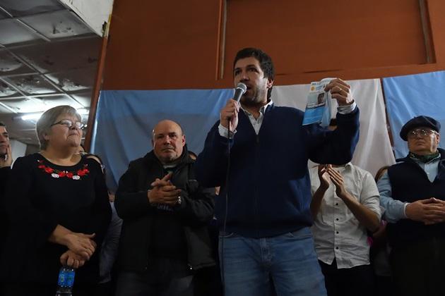 """«Zaza» Ustarroz: """"Necesitamos el apoyo de la gente para poder implementar más políticas públicas"""""""