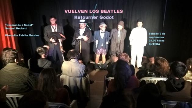 Vuelven a presentar «Esperando a Godot» en SUTEBA Mercedes