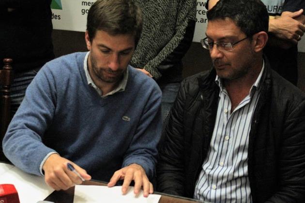 Club unión firma convenio con el Municipio por cesión de terrenos