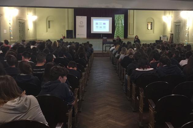 Realizaron Jornada sobre Diversidad Sexual en el Colegio Nacional