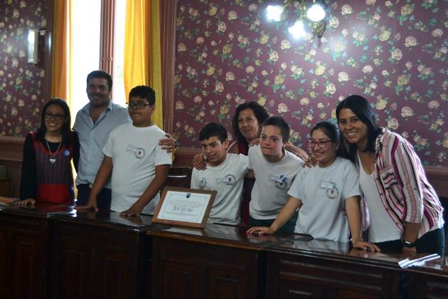 Asumieron los legisladores de la Escuela Vamos Creciendo