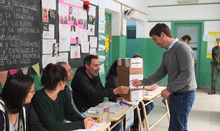 Ustarroz: «Cada elección es un momento para poder reafirmar nuestra democracia