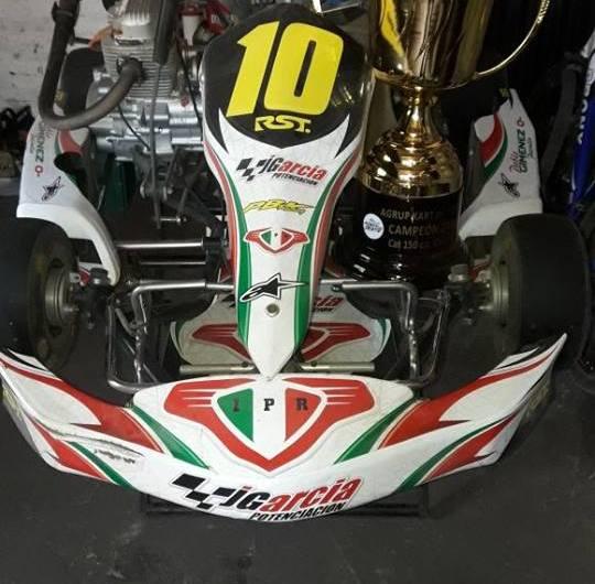 «Patrulla» Giménez, campeón del Kart del Oeste