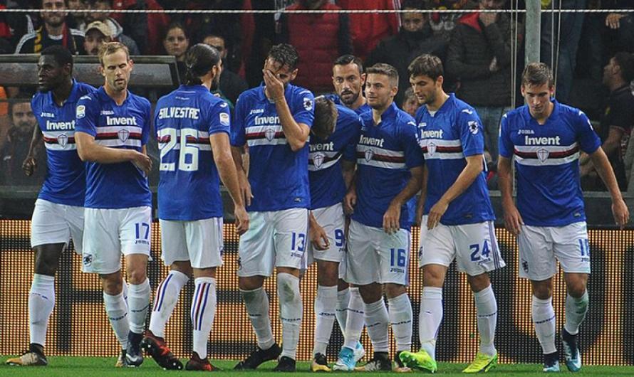 La Sampdoria de Matías Silvestre se quedó con el clásico genovés (video)