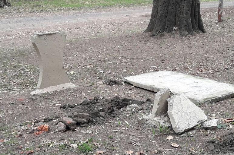 Concejales de Cambiemos recorrieron el Parque Municipal constatando «el mal estado»