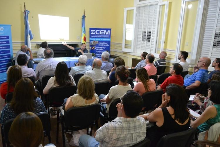 La CEM organizó charla informativa sobre la tasa de seguridad e higiene y su moratoria