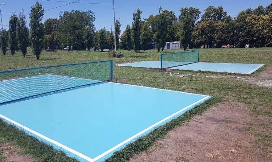 Se viene un torneo de fútbol tenis en La Trocha