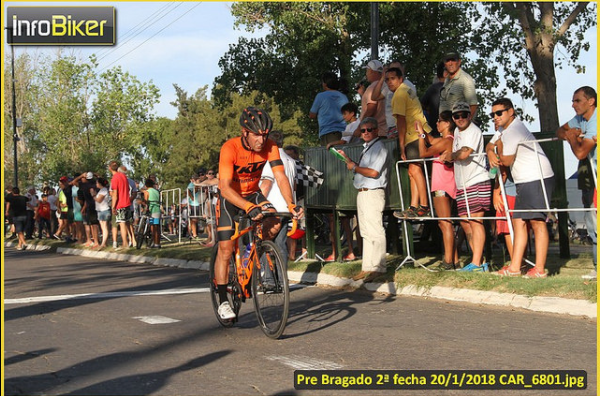 Darío Oliva fue tercero en la Pre Bragado