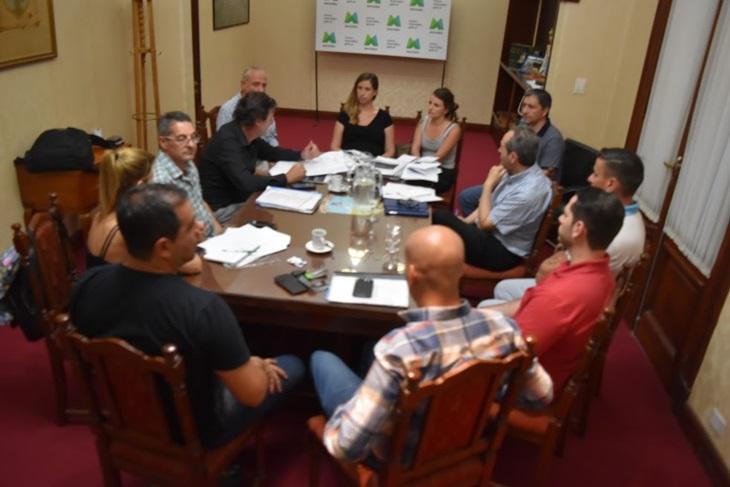 Secretaría de Seguridad se reunió con representantes de Ferrocarriles Argentinos