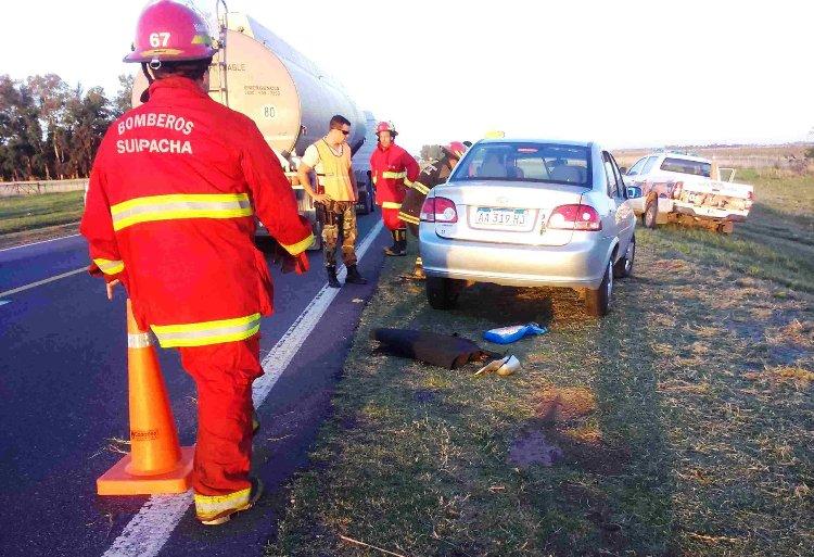 Sin lesiones: Nuevo vuelco en la Ruta 5