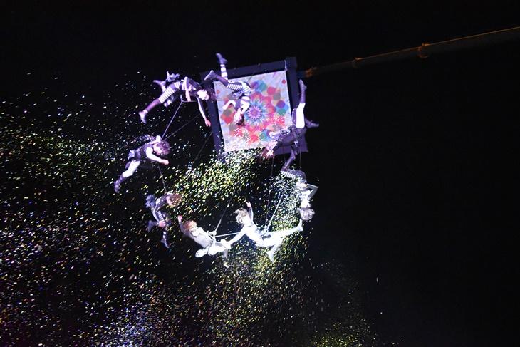 Carnavales: gran cierre con show de acrobacias aéreas y se conocieron los ganadores
