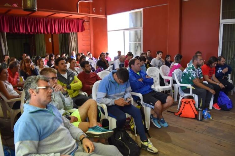 Dirección de Deportes organizó curso sobre atención de lesiones y prevención