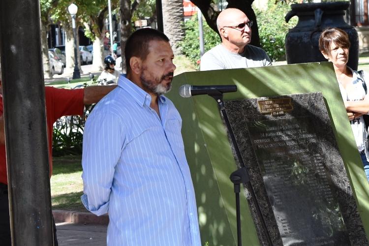La Coordinación de DDHH repudia el ataque a mural por la Memoria