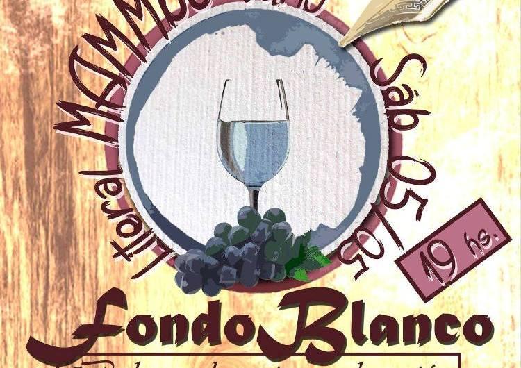 LiteralMAMMbo: fondo blanco entre el vino y la literatura