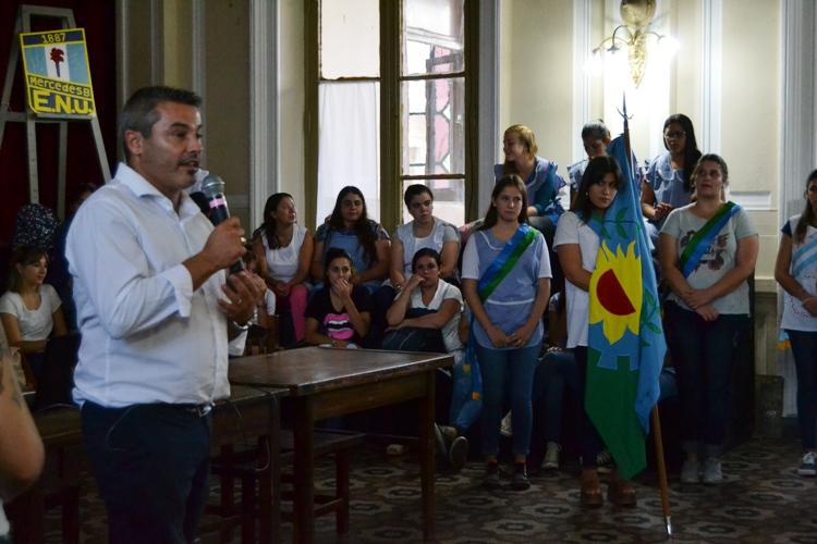 El Instituto 137 inauguró ciclo lectivo con el Director Provincial de Educación Superior