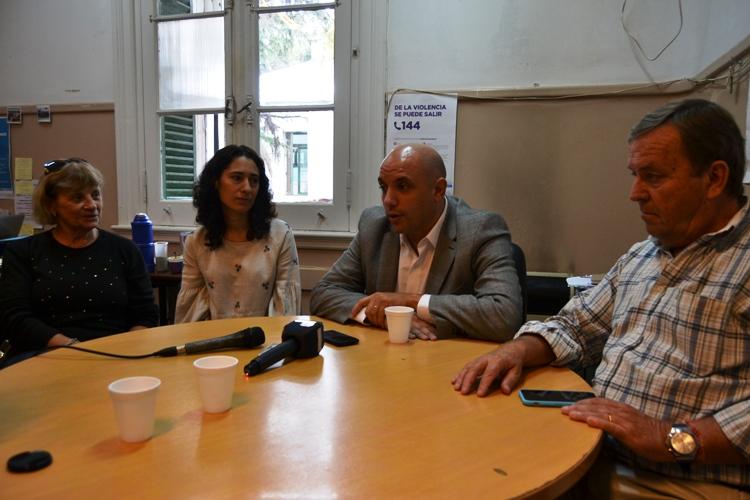 El Diputado Provincial César Torres recorrió la ciudad y se reunió con dirigentes políticos