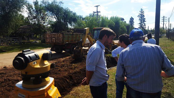 Municipio inicia otros 400 metros de obras hídricas