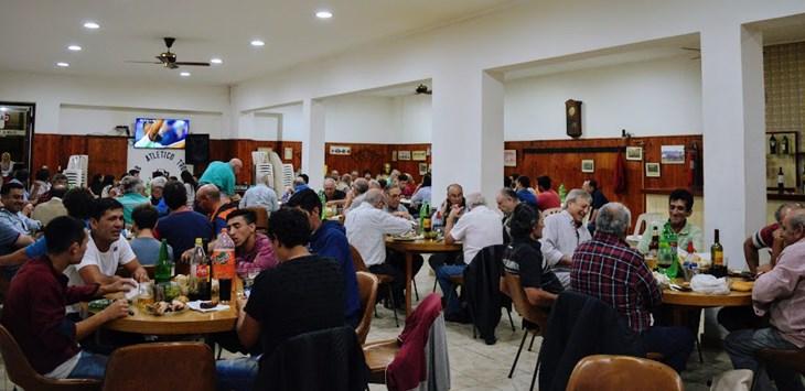 Club Trocha: cena solidaria y anuncio de obras por parte del Municipio