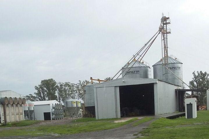 Accidente laboral en un silo del Cuartel XVIII