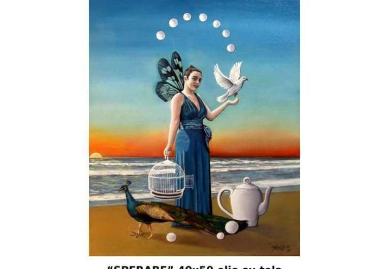 Sebastián Bocca ganó premio en Italia con su obra «Sperare»