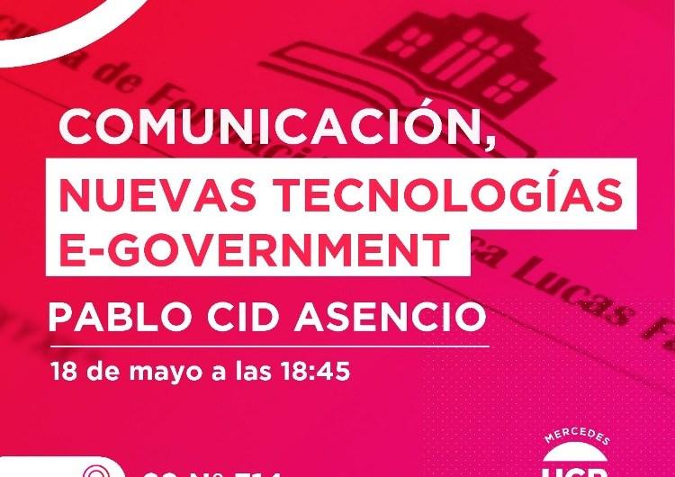 Pablo Cid Asencio disertará en la UCR Mercedes