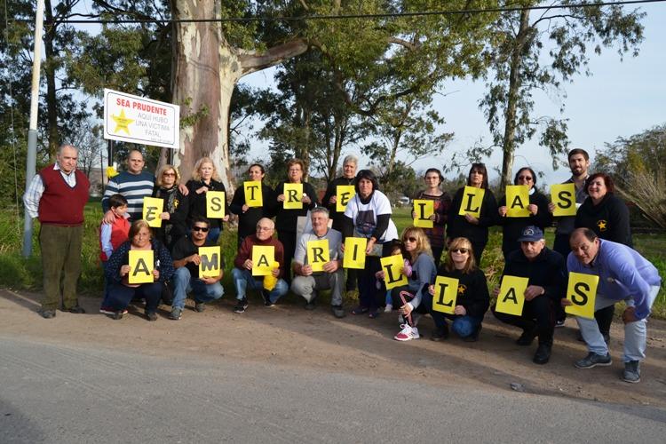 Caravana de Estrellas Amarillas en el día de la Seguridad Vial