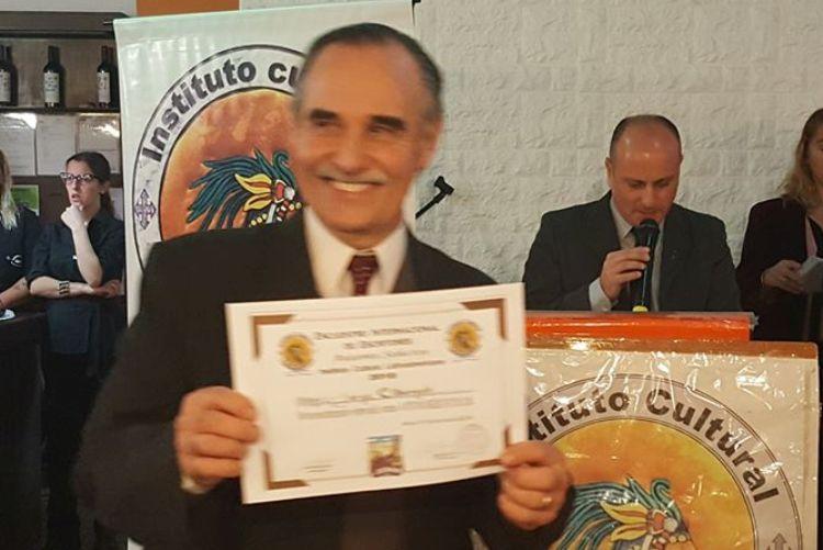 Jorge Citrángolo Casal reconocido por su difusión de la literatura regional