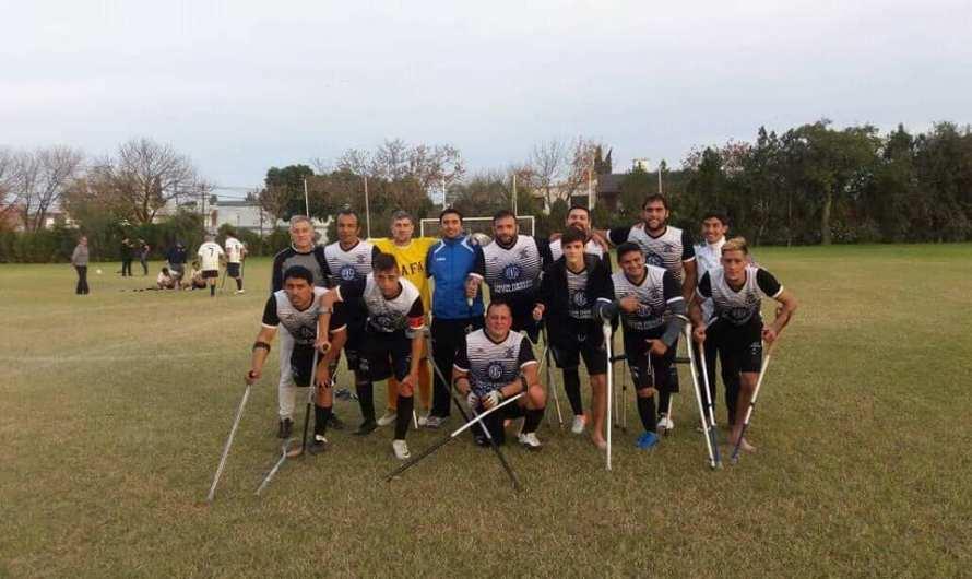 Gran debut de Los Lobos en el certamen de Fútbol de Amputados