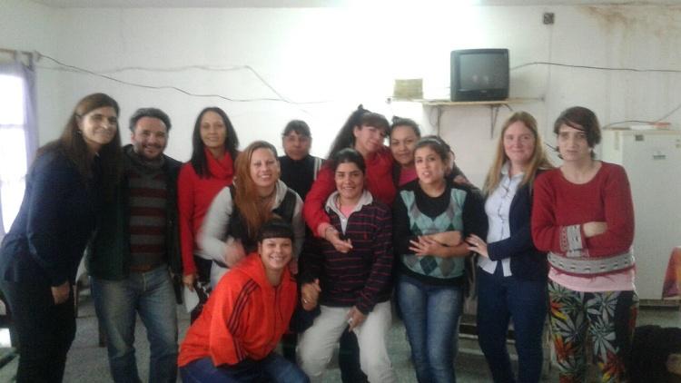 Charla sobre salud mental en el Anexo Femenino de la Unidad 5