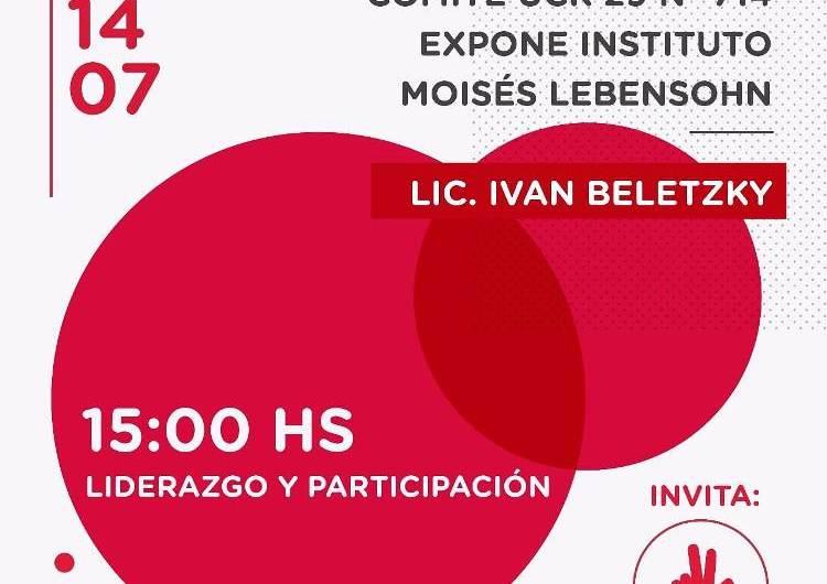 Charla: Liderazgo y Participación en la UCR Mercedes