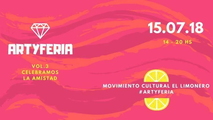 Este domingo 15 una nueva ArtyFeria en El Limonero