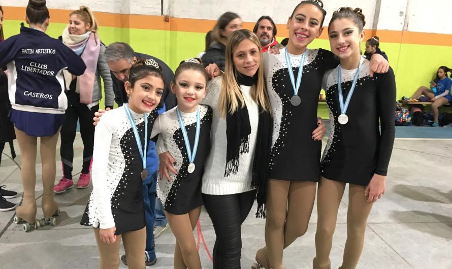 Patinadoras de Club Mercedes, clasificadas al campeonato Nacional