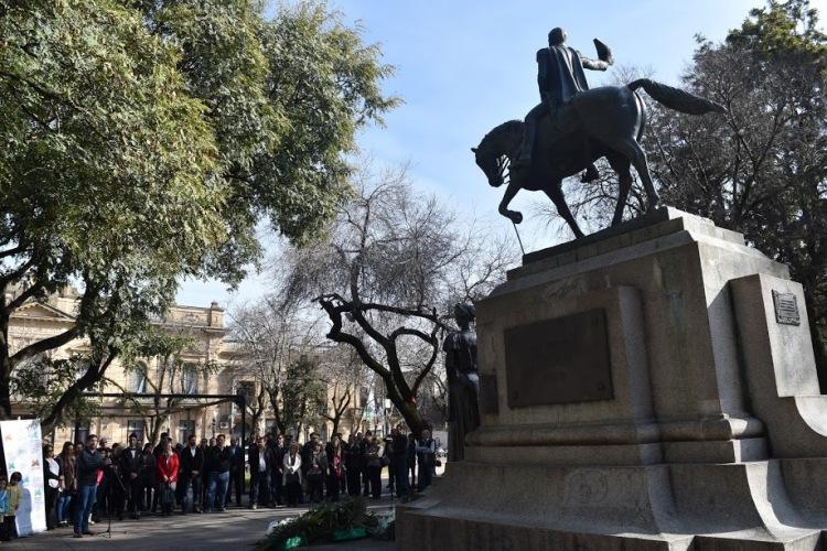 Recordaron al General José de San Martín