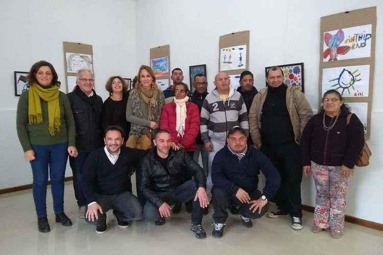 El área de Salud Mental del Dubarry expone en el Museo de Arte