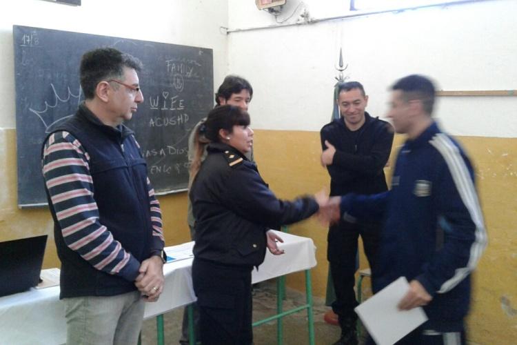 Entregaron certificados a internas que se capacitaron en distintos cursos