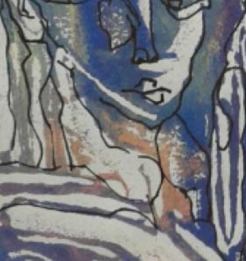 Pinturas, dibujos y monocopias en una muestra colectiva