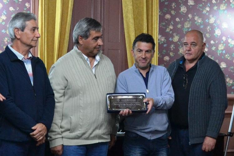 HCD reconoce a la Liga Mercedina de Futbol por sus 90 años
