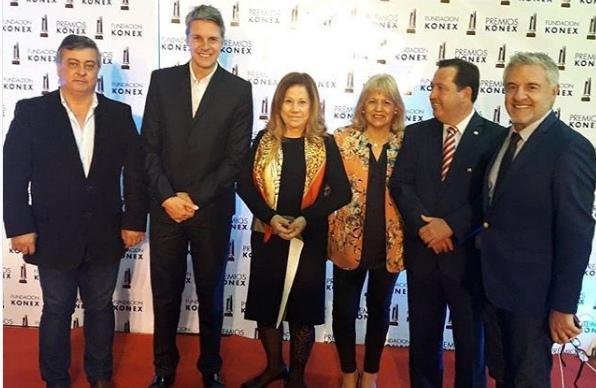 Selva acompañó a Graciela Camaño a la recepción de su premio Konex