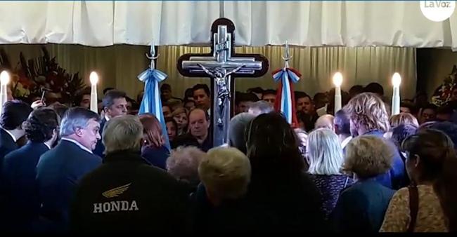 Carlos Selva se despidió de De La Sota en Córdoba