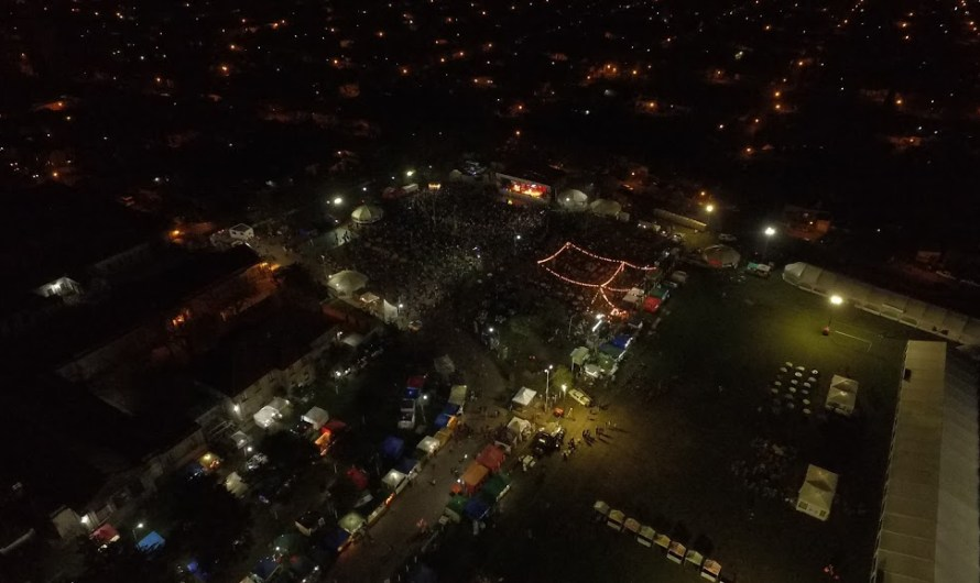 Gran marco de público en el cierre de la Fiesta Nacional del Salame
