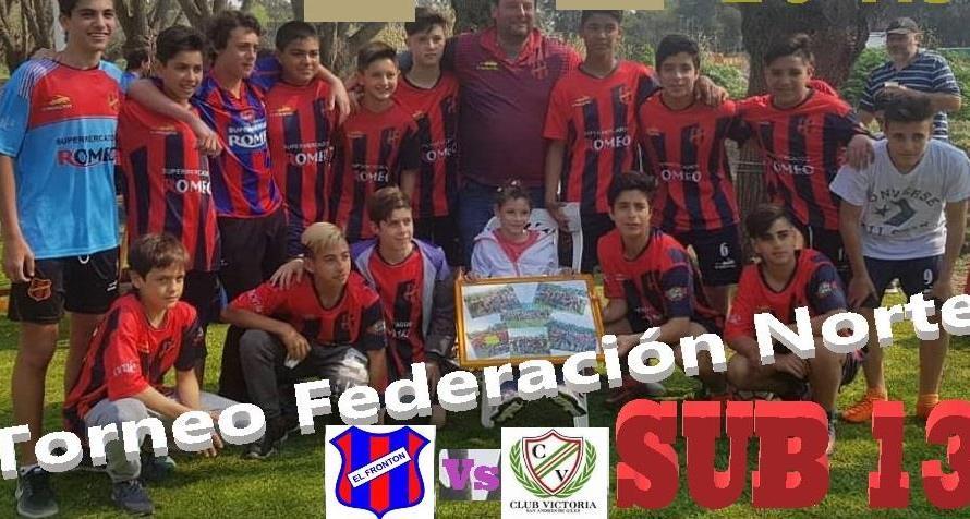 Estudiantes y El Frontón debutaron con una victoria en Sub 13